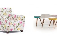 İlkbahar mobilya trendlerinde floral desen rüzgarı