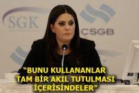 Bakan'dan SGK gayrimenkullerini satıyor iddialarına cevap