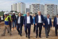 TOKİ Başkanı Turan, İzmir projelerinde incelemelerde bulundu