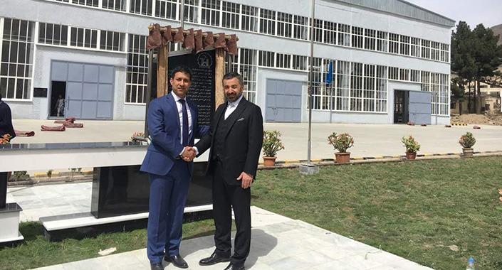 Vefa know how ihracatıyla ilk fabrikasını Afganistan'da açtı