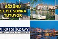 YKK GYO, İstanbul İstanbul sakinlerine arsa dağıtacak