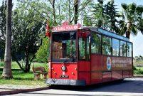 Sözlü'den Adana'ya ücretsiz nostaljik tramvay