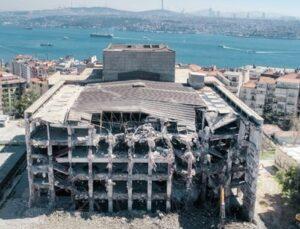 AKM'de yıkım 1 ay içerisinde tamamen bitmiş olacak