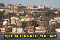 Çengelköy Sahil yolu 3 ay trafiğe kapanıyor
