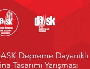 DASK Depreme Dayanıklı Bina Tasarımı Yarışması'na 75 başvuru