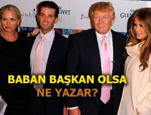 Vanessa Trump miras kalınca Donald Trump'ın oğlunu boşuyor