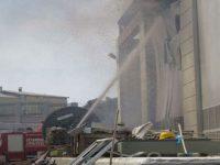 Dudullu metro trafo merkezinde yangın çıktı, 1 kişi öldü