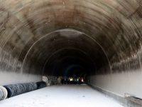 Eğribel Tüneli'nde ışığın görülmesine son 50 metre