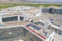 Kayseri Şehir Hastanesi konforuyla göz dolduruyor