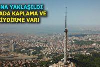 Çamlıca Kulesi'nin 1400 tonluk anteni tamamlandı