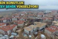 TOKİ, Gaziantep'e 200 bin kişilik şehir kuruyor