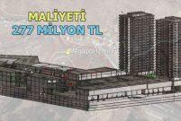 Megapol İzmir'in 29 katında otel ve AVM yer alacak