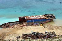 Mercy God gemisi sökülerek inşaat demiri olacak