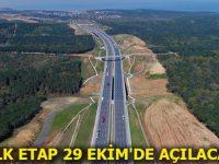 Kuzey Marmara Otoyolu Projesi tam gaz