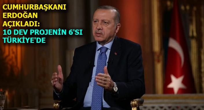 Türkiye'nin yeni dönemde hız kazanacak vizyon projeleri
