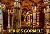 Şerefiye Sarnıcı İstanbul'un kültür ve sanatına kazandırılıyor