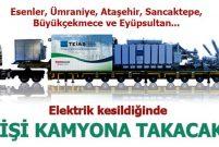 EÜAŞ 3 treyler mobil elektrik santrali kuruyor