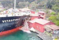 Yalıya çarpan geminin mürettebatı kazayı anlattı