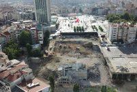Atatürk Kültür Merkezi'nin yıkımı tamamlandı