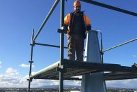 Konyalı usta Avustralya'ya minare ihraç ediyor