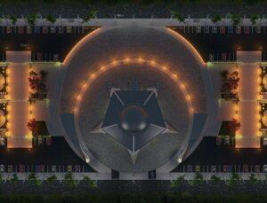 Ay yıldız şeklindeki cami Sivas'tan yükseliyor