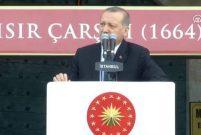 Cumhurbaşkanı Erdoğan Mısır Çarşısı'nın açılışını yaptı