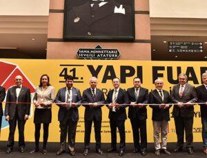 41.Yapı Fuarı Turkeybuild İstanbul kapılarını açtı