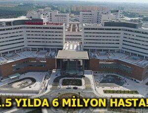 Şehir hastaneleri rekora koşuyor