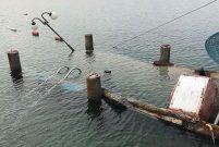 Didim'de 5 yıldızlı otelin iskelesi çöktü, 8 kişi yaralandı