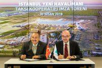 İstanbul Yeni Havalimanı'nda 660 taksi hizmet verecek