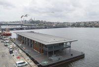 Karaköy sanat eseri benzeri akıllı yüzer iskelesine kavuşuyor