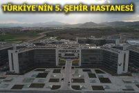 Kayseri Şehir Hastanesi açılış için gün sayıyor