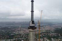 Çamlıca Kulesi 365 metre ile Eyfel'i geçti