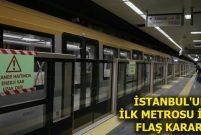 Yenikapı-Atatürk Havalimanı Metrosu sürücüsüz olacak