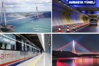 Türkiye dev ulaşım projeleriyle çağ atladı