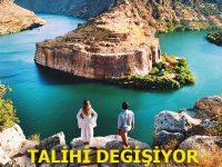 Gaziantep Rumkale'ye feribot yanaşma iskelesi yapılıyor