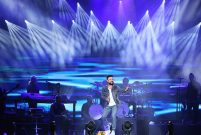 Tarkan Vadistanbul'da 12 bin kişiye konser verdi