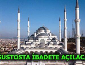 Çamlıca'daki cami 100 milyon dolara bitiyor