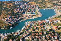 Çeşme Dalyanköy Yat Limanı'na yüzer iskele yapılıyor