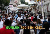 Ramazan Bayramı'nda 2 milyon kişi sel oldu, Çeşme'ye aktı