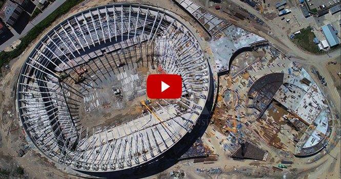Giresun'daki Çotanak Stadı yıl sonuna tamamlanacak
