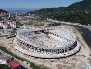 Çotanak Stadı yıl sonuna kadar tamamlanacak