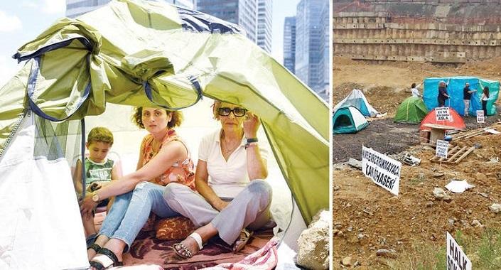 Fikirtepe'de çadırsal dönüşüm