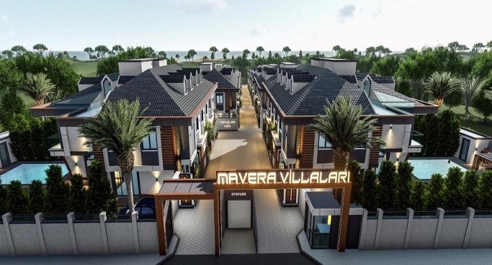 Mavera Villaları'nda fiyatlar 2,5 milyon TL'den başlıyor