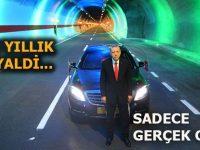 Rize'yi Erzurum'a bağlayan Ovit Tüneli hizmete açıldı