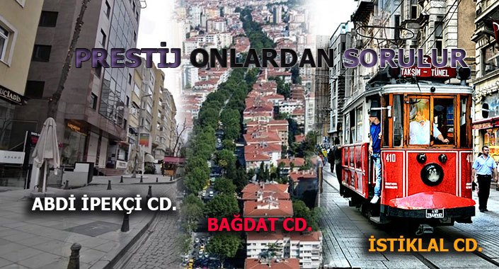 Istanbulun Prestij Caddelerinde Sosyoloji Değişti