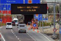 Sabuncubeli Tünelleri'nden 15 günde 600 bin araç geçti