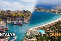 Çeşme'de müstakil konutların fiyatı Antalya'nın 2.5 katı