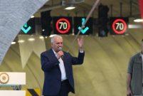 Başbakan Binali Yıldırım Sabuncubeli Tüneli'ni ulaşıma açtı