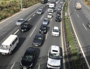Anadolu Otoyolu belirli saatlerde ulaşıma kapatılacak
